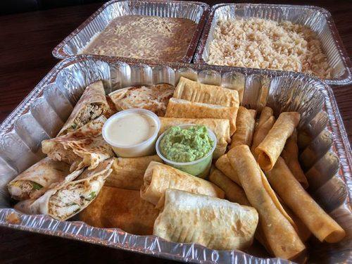 fiesta pack dinner - family pack