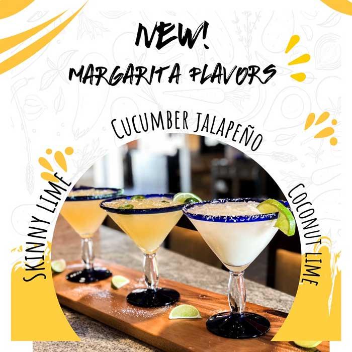 New Margarita Flavors